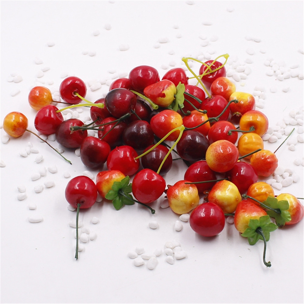 5pcs artificial fruits and vegetables flowers for wedding for Artificial fruits for decoration