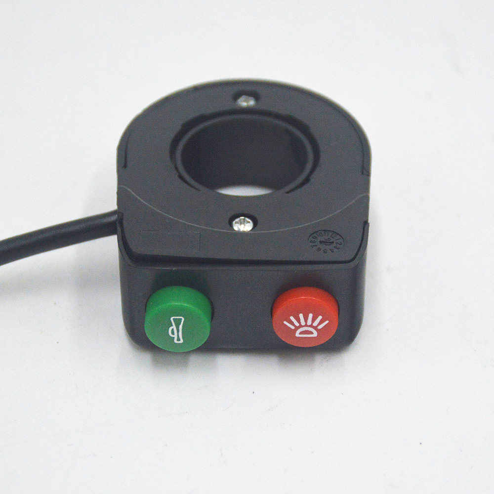 Wuxing Electric Bicycle On/Off Electric Bike Switch With Buttons Light Switch Electric Scooter E Bike Accessories