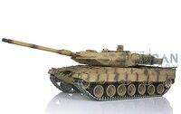 Henglong 1/16 Sa Mạc Vàng Đức Leopard2A6 Tank RC Nâng Cấp Kim Loại Ver 3889Y Bài Hát W/Một Bên Miếng Đệm Cao Su