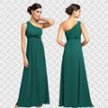Free shipping bridesmaid dress 2016,fancy one shoulder beaded bridesmaid dress size US 24,26,11 colors,spring fall style,BR15137