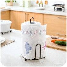 Kitchen vertical circular towel rack, kitchen paper roll holder towel rack storage rack