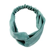 купить hair bands for women hairbands headband plain elastic korean stylish turban accesorios para el cabello haar accessoires дешево