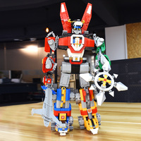 2600pcs Ideas Series Voltron Defender of The Universe Model Building Block Bricks Toys Compatible Children Gift
