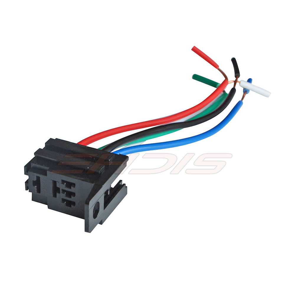 5pcs Automotive Harness Car Auto Relay Socket Spst Wire Spdt Wiring Alarm 12v 24v 5pin In Cables Adapters Sockets From Automobiles