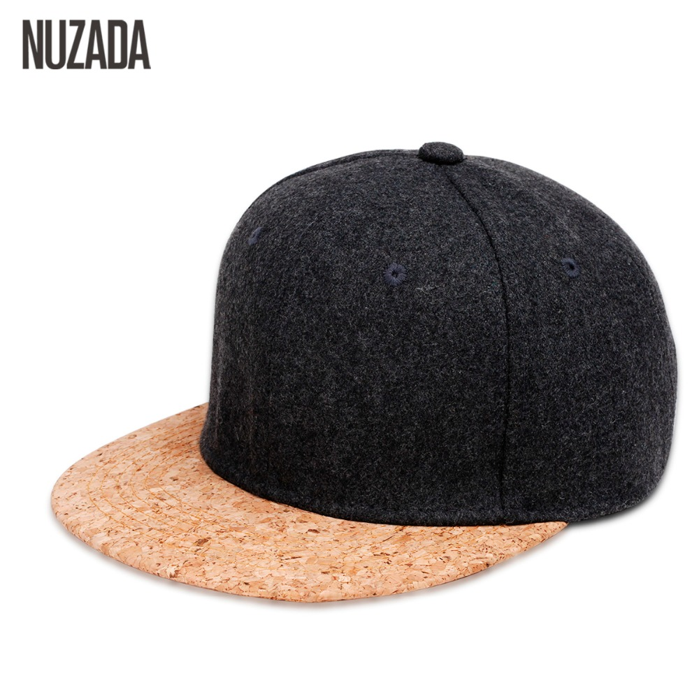Brands NUZADA 2017 Autumn Cork Fashion Simple Men Women Hat Hats Baseball Cap Hip Hop Snapback Simple Classic Caps Winter new 2017 hats for women mix color cotton unisex men winter women fashion hip hop knitted warm hat female beanies cap6a03