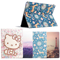 Fashion painted Pu leather stand holder Cover Case For Samsung Galaxy Tab 2 P5100 P5110 P5113 10.1 inch Tablet + Gift