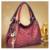 2016 luxo mulheres lindas bolsas oco out Carving agradável moda mensageiro sacos de senhora com flor pingente de metal decoração