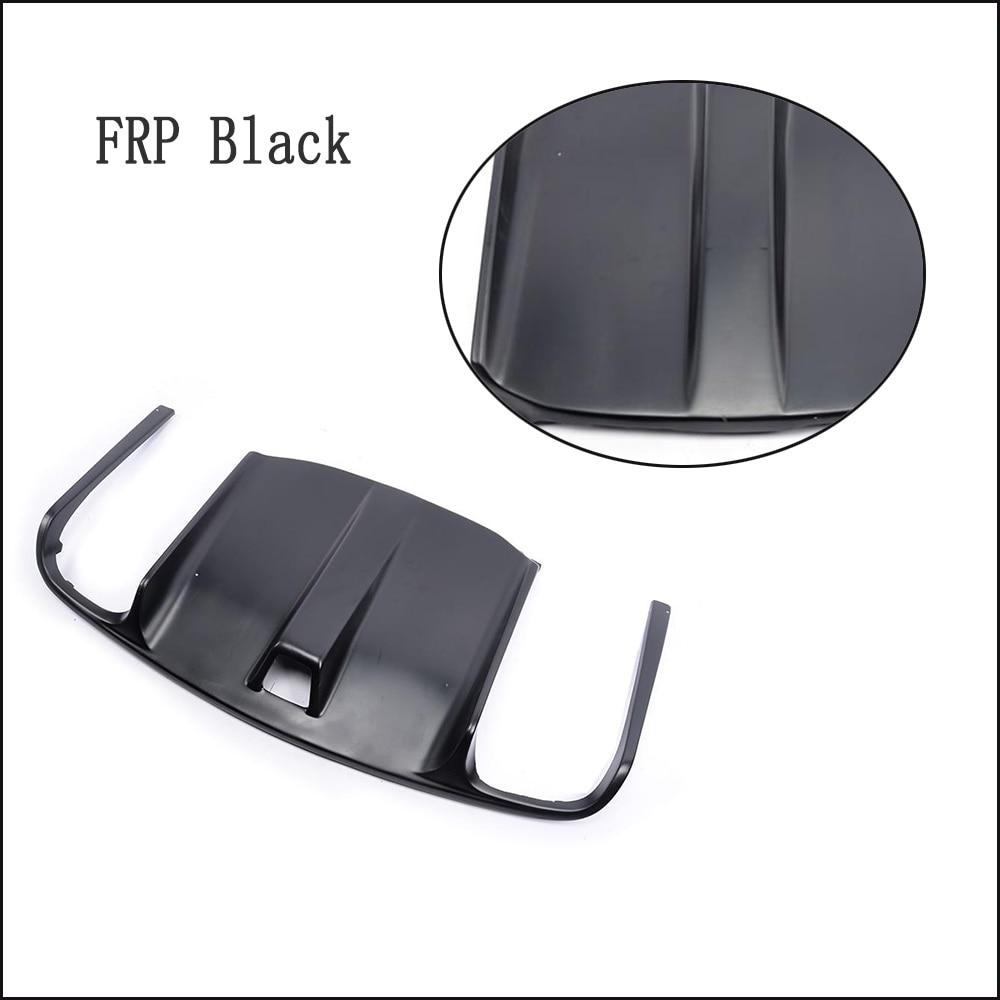 Углеродного волокна/frp зад бампер диффузор спойлер для Mercedes-Benz e-класс W207 C207 E63 AMG купе Contertible 2009-2012 - Цвет: FRP Black