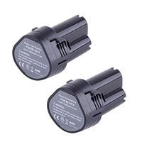 Top Deals 2X 10 8 Volt Li Ion Battery For Makita BL1013 194551 4 194550 6