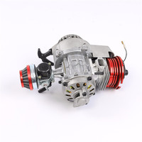 High Performance Mini Pocket Minimoto Bike Air Cooled 49cc Racing Engine ATV Dirt Pitbike Pocket Bike Red
