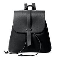 New PU Leather Backpack Women Casual Preppy Chic School Bags Teenage Girl Mochila Escolar Women Backpack
