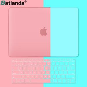 Premium New Matte Case For MacBook Air 11 12 inch Laptop Sleeve for Macbook Pro 13 15 Touch Bar/Touch ID 2018 +keyboard Cover