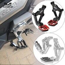 XADV 750 Motorcycle Accessories Folding Rear Foot Pegs Footrest Passenger For Honda X-ADV X ADV 2017 2018