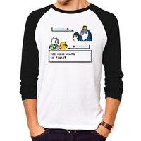 New Fashion Adventure Time T Shirt Men Women Cute T Shirt Print 3d Cartoon Shirts Cotton
