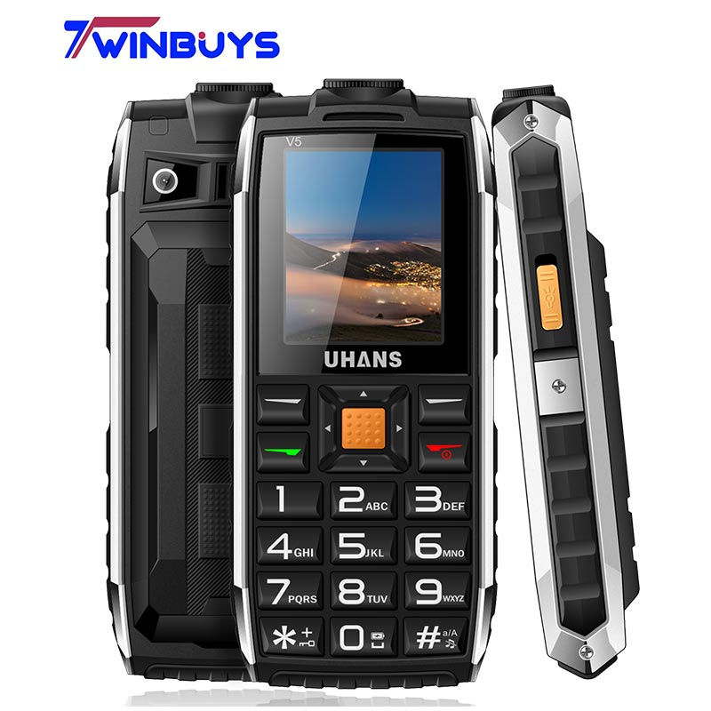 Uhans V5 Daily Waterproof shockproof phone Power bank Dual ...