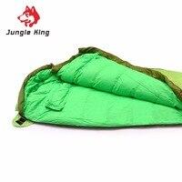 Winter Sleeping Bag Cold Temperature Sleeping Bag For Winter Portable Duck Down Nylon Sleeping Bag Outdoor
