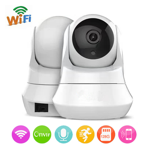 Wireless Ip Camera 720 P Network CCTV Surveillance Camera WiFi Wi-fi Video Surveillance Cameras IR-Cut Nightvision Audio