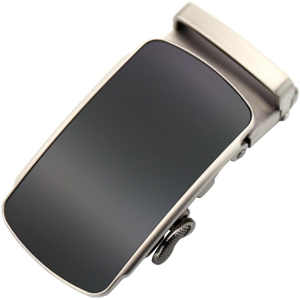 3.5cm Width Men's Business Alloy Automatic Buckle Fashion Belt Buckles For 3.5cm Ratchet Belt Men Apparel Accessories CE25-1330