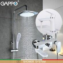 GAPPO Смесители бассейна Смесители для душа смеситель для раковины водопад смеситель для ванны осадков душ системы