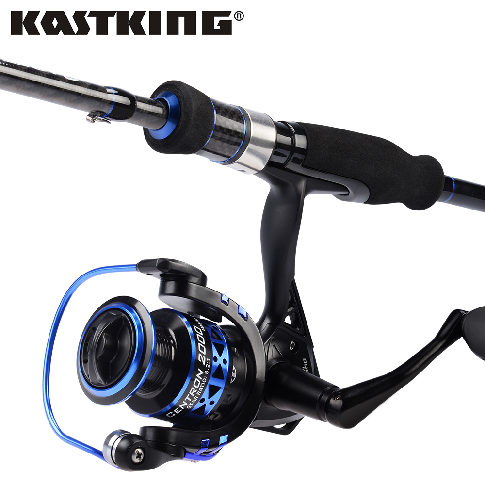 KastKing Centron Fishing Reel Cadet Fishing Rod Combo 1.98m 2.10m M ML Power Carbon Spinning Fishing Rod For Carp Fishing Pole