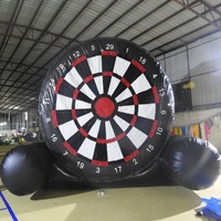Inflatable Football Game Soccer Dart Board