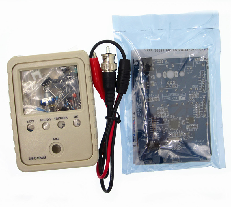 5set/sets Orignal Tech DSO150 15001K DSO-SHELL DS0150 DIY Digital Oscilloscope high tech and fashion electric product shell plastic mold