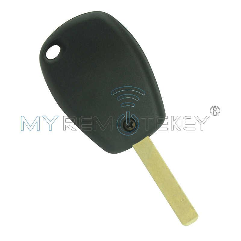 Clio Kangoo Master PCF7947 llave remota para coche 3 botones Sin logo VA6 434mhz para Renault remtekey
