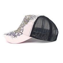Paisley Snapback Cap