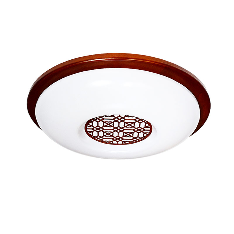 living room Ceiling Lights Chinese style Wooden LED circular ceiling lamps real wood art acrylic bedroom study ZS45 chinese style wooden led circular ceiling lamps real wood art acrylic bedroom study decorated living room ceiling lights za zs45