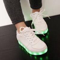 2015 New Led Luminous Light Shoes Fasion Brand Parent Child Shoes With Light Kids Luminous Sneakers