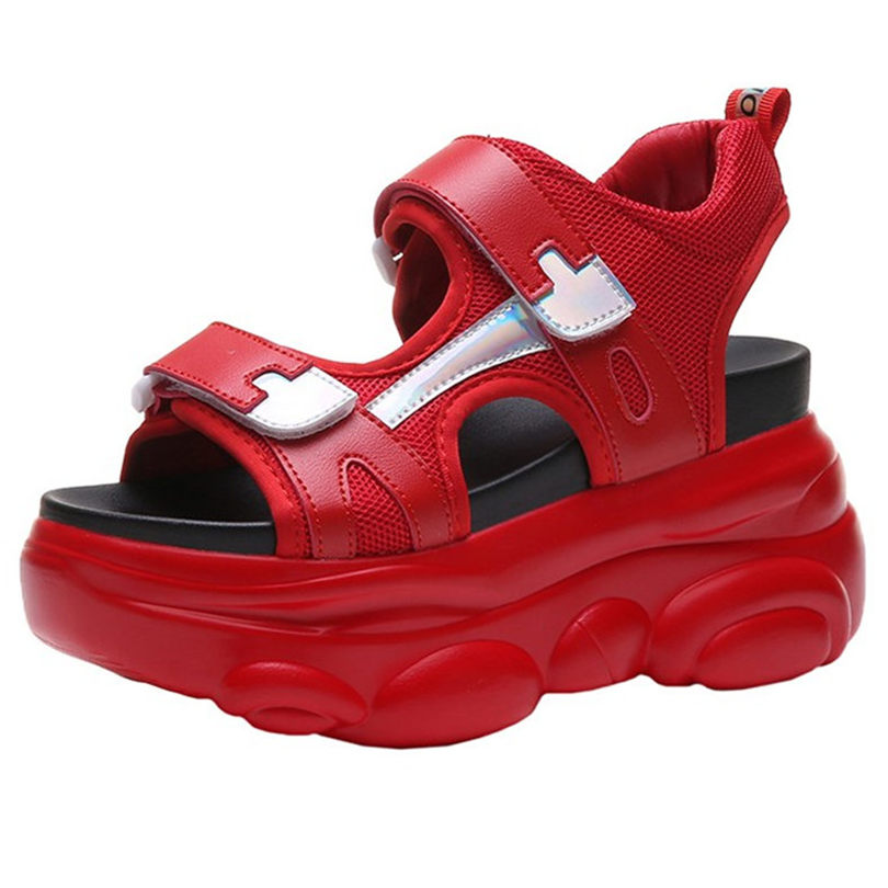 Women Platform Sport Sandals High Heel Gladiators Fashion Sneakers Summer Shoes Creepers Comfortable