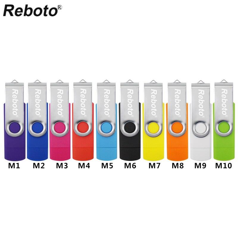 Retobo מהירות גבוהה טלפון זיכרון זיכרון 4GB 8GB USB Flash Drive 16GB 32GB עט כונן OTG אחסון חיצוני USB 64GB Pendrive U Stick