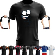 98c61cb30 Sport Quick Dry Running Basketball Soccer Training T Shirt Fosters Home for Imaginary  Friends Bloo BLUE