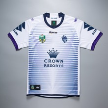 ada0587f01b BONJEAN new NRL Melbourne Storms away 2018 2019 white rugby jerseys size  S-3XL