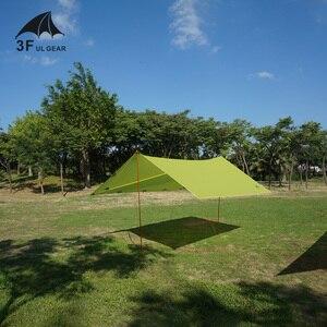 Image 4 - 3f ul engrenagem ultraleve à prova d15água 15d silicone revestido lona de náilon sun shelter para rede barraca acampamento toldo dossel