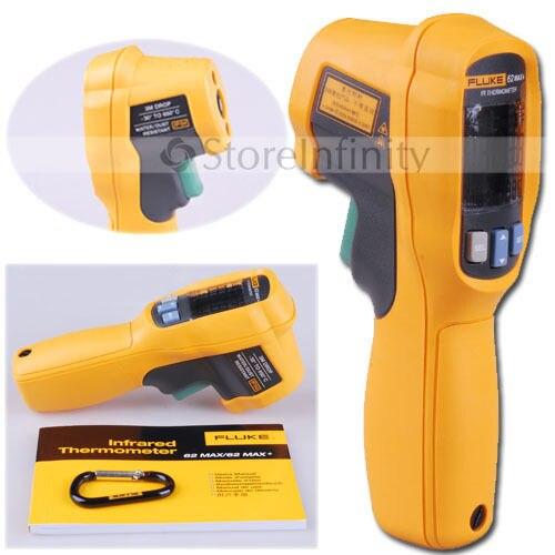 Frete Grátis Fluke 62 Max + Dual 62Max Termômetro Infravermelho Do Laser Frete Grátis +