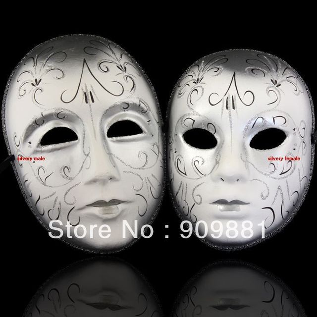 beautiful pulp european style painting mask venice couples lovers wedding masks halloween house party masquerade cosplay