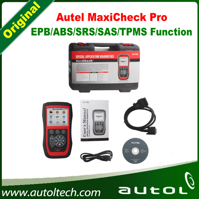 100 Original Autel MaxiCheck Pro EPB ABS SRS Climate Control SAS font b TPMS b font