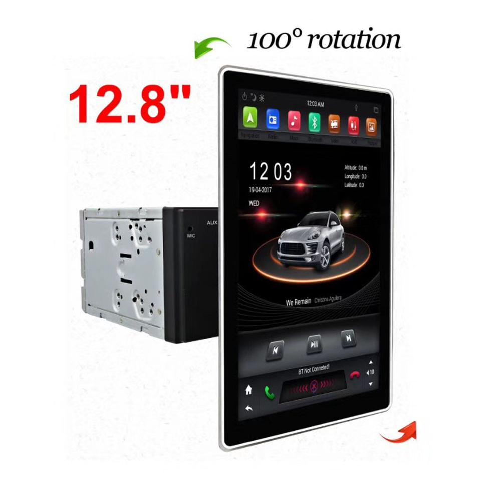 12.8 PX6 Android 8.1 Universal 2 Din /double din Car DVD Player+Radio+GPS Navigation+Autoradio+Stereo+Bluetooth+SD USB RDS