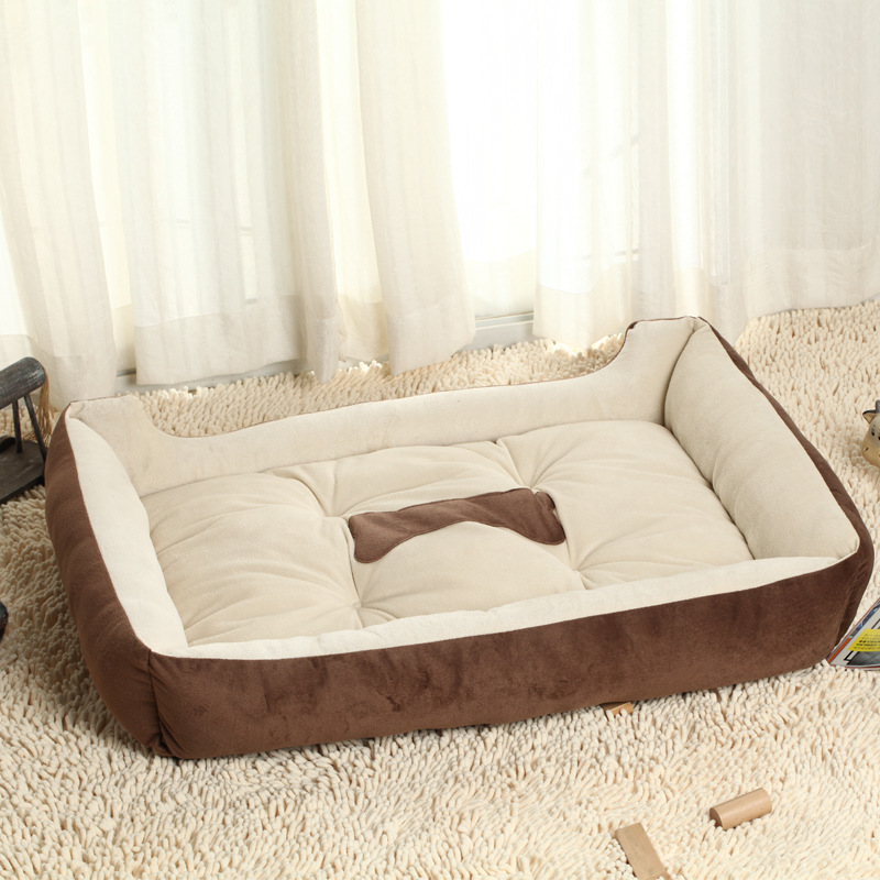 US $9.81 46% OFF|JORMEL Dog Bed Kennel Mat Soft Pet Cat Dog Warm Bed House  Dog Sofa Pad Warm Plus Size Small Middle Large Pet Animal Home-in Houses,  ...