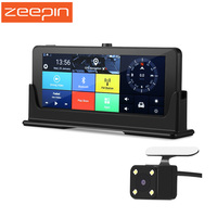ZEEPIN 3G 7 Car DVR Rearview Mirror Dual Camera Android 5 0 WiFi GPS Driving Video