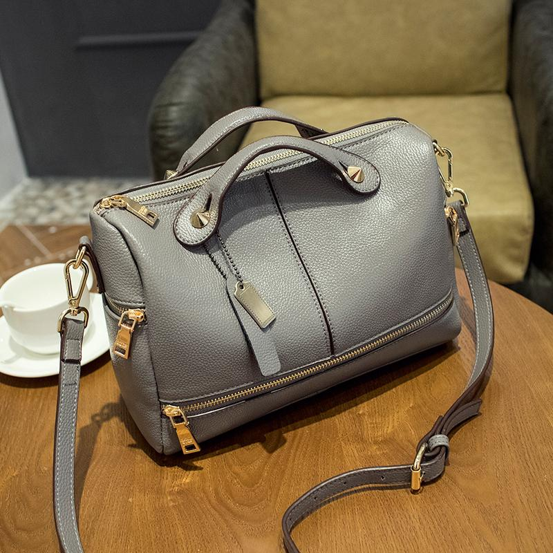 Women Top Pu Leather Handbags Bolsa Femininas S Shoulder Bags Purses And Las Famous Brand Hot In Handle From