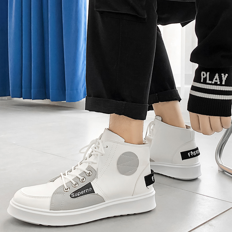 Plein Casual Personnalité Haute Black Chaussures Air Mode Sneakers Ky3 Hommes En De Appartements Top Hip La white Hop Classique wB1wFg