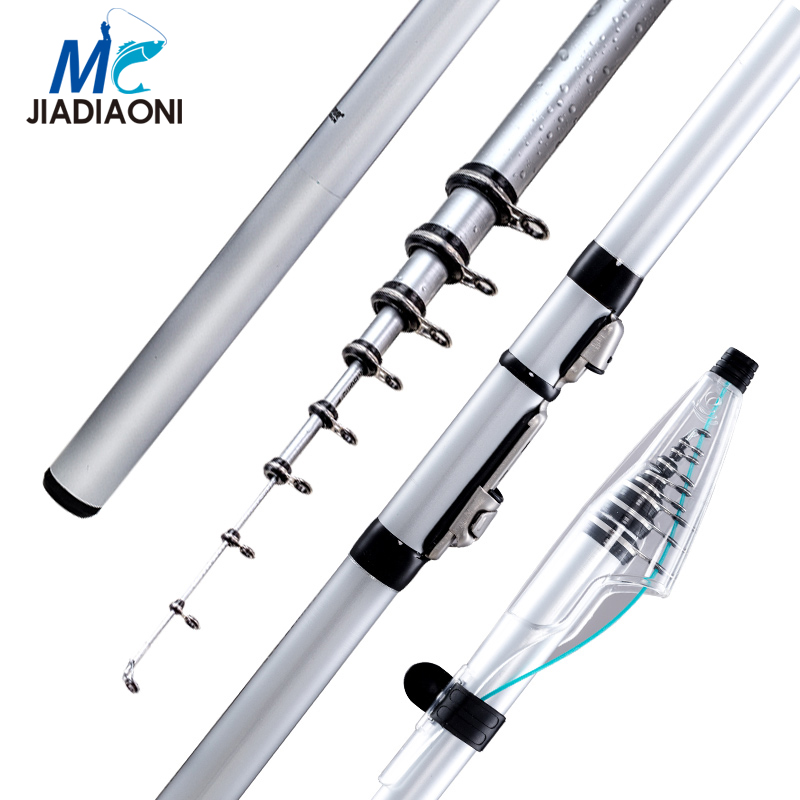 JIADIAONI Carbon Fiber 3.6m/4.5m/5.3m Long Telescopic Spinning Carp Fishing Rod Ice Fly Fishing Fishing Rod Fishing Tackle jiadiaoni carbon fiber 3 6m 4 5m 5 4m 6 3m long telescopic spinning carp fishing rod ice fly fishing fishing rod fishing tackle