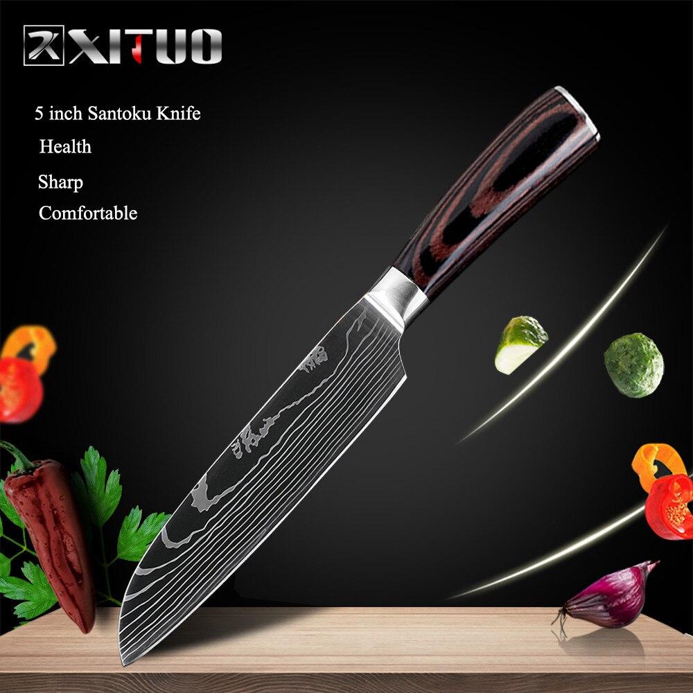 5 in Santoku knife