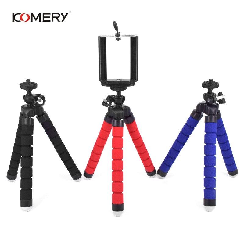 Tripés para o telefone móvel suporte da câmera clipe smartphone monopod tripe polvo mini tripé stativ para iphone xiaomi huawei