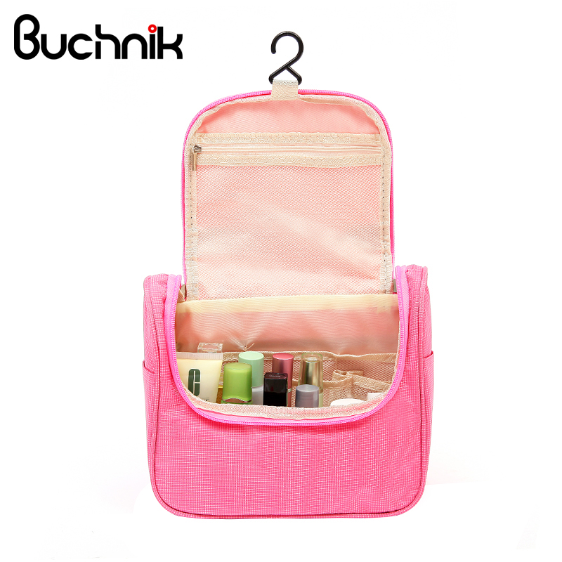 Women's Men's Hanging Cosmetic Bag Makeup Toiletries Storage Case Travel Organizer Wash Pouch Accessories Supplies Products solid color fashion cosmetic bag ladies portable travel necessary markup pouch storage beauty tools accessories supply products