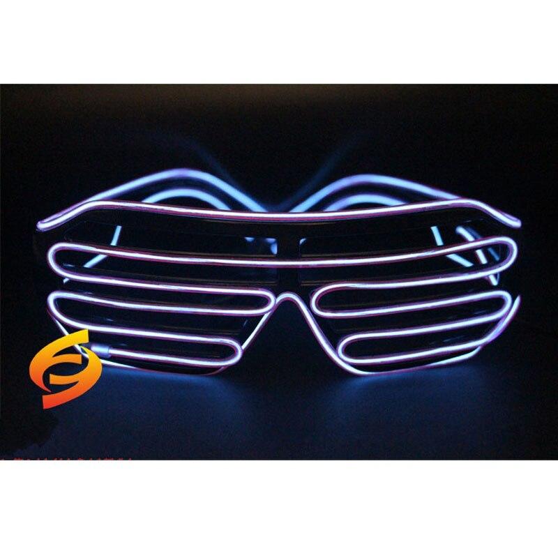 Вечеринок star концерты игры в футбол EL люминесцентные очки призрак Фестиваль Блеск Очки флуоресцентный очки игрушка