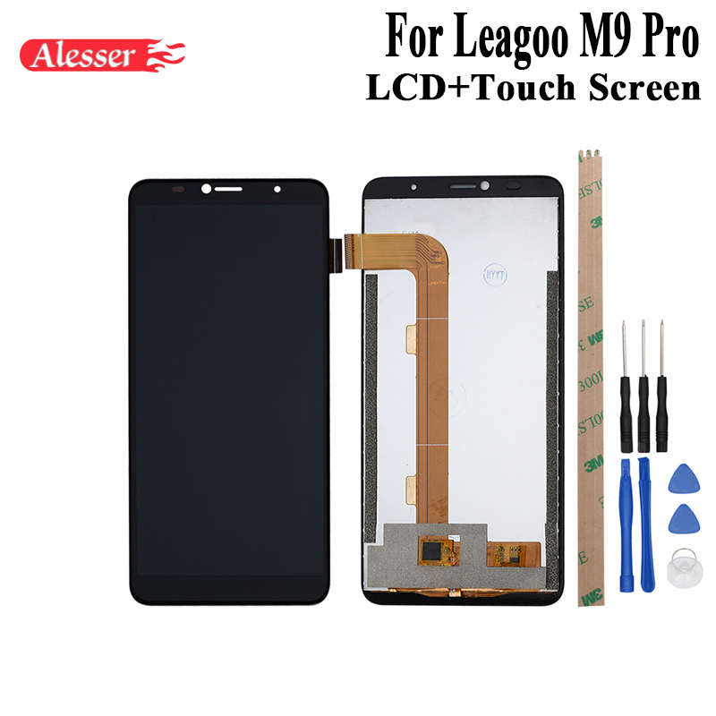 US $33 69 |Alesser For Leagoo M9 Pro LCD Display and Touch Screen Assembly  Repair Parts With Tools And Adhesive For Leagoo M9 Pro Phone-in Mobile