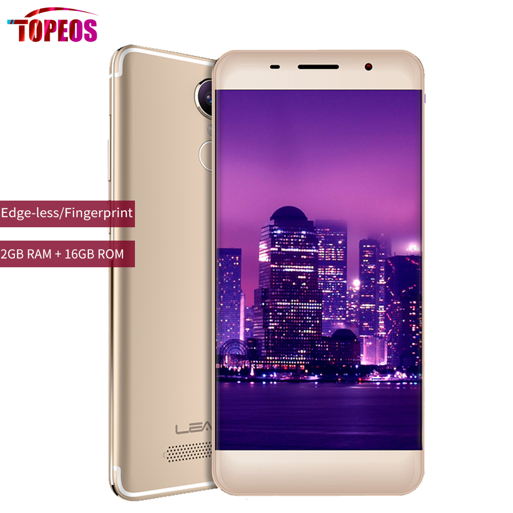 Original Leagoo M5 EDGE Phone MT6737 Quad Core Android 6.0 2GB RAM 16GB ROM 13MP 5.0 inch 1280*720 Fingerprint 4G LTE Smartphone